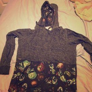 OTB lightweight hoodie